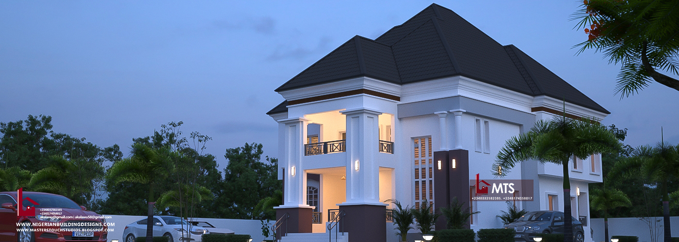Modern House Roof Design In Nigeria