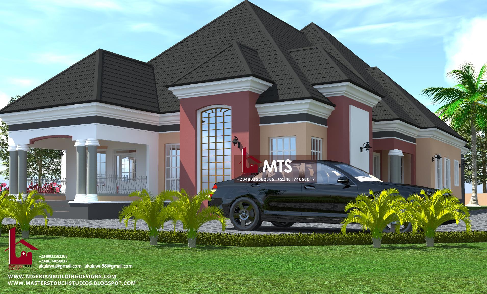 5 Bedroom Bungalow Rf 5005 Nigerian Building Designs